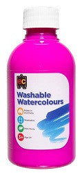 Washable Watercolours 250ml - Collins Craft and School Supplies