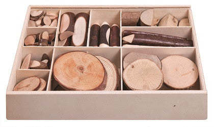 Discovery Wooden Piece in Box - WP150 - Collins Craft and School Supplies