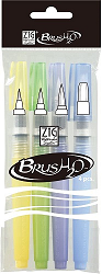 ZIG Brush2O Water Pens Pack of 4