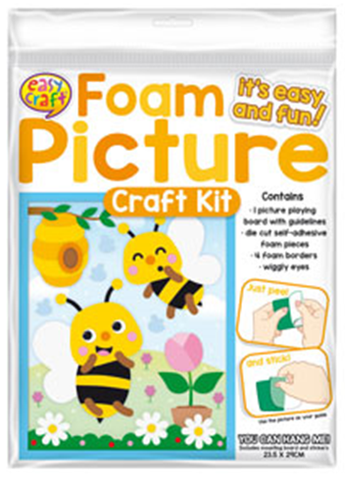 Foam Picture Craft Kit -