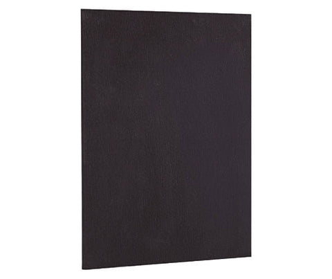 Black Canvas Board