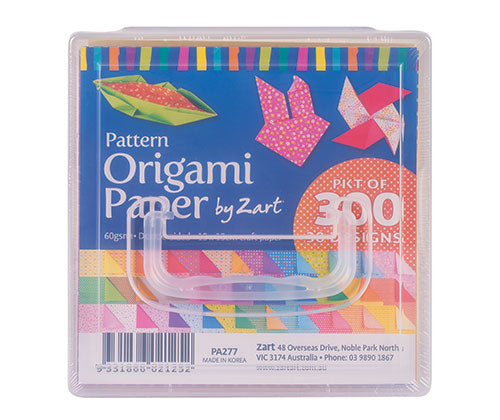 Patterned Origami Paper