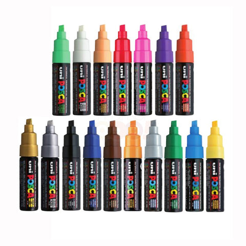 POSCA Markers Bold 8mm Single Colours PC-8K - - Collins Craft and School Supplies