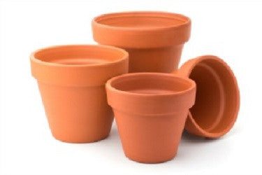 Terracotta Pots - Collins Craft and School Supplies