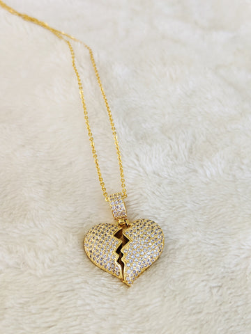 The broken heart necklace