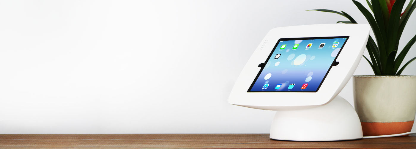 BOB Swivel Tablet Kiosk