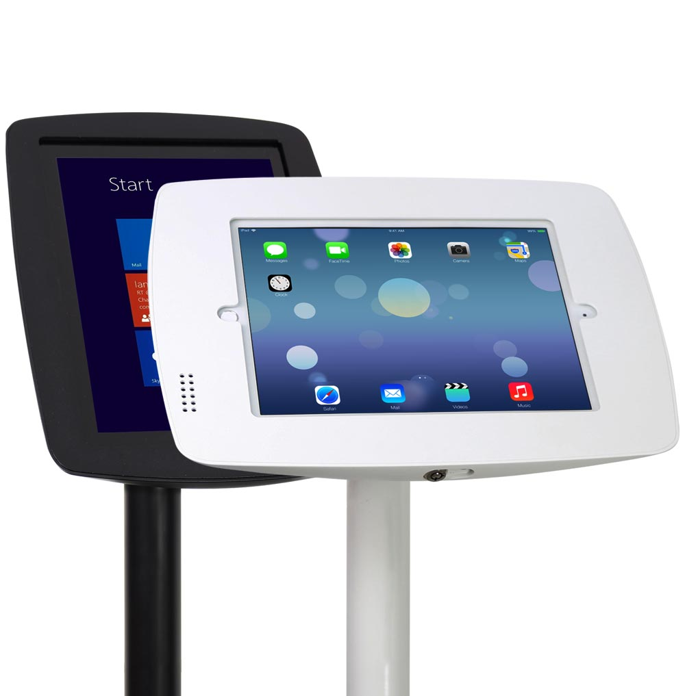 Boss-Tab Fusion Rotate Tablet Floor Kiosk
