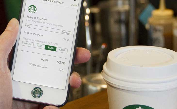 Starbucks POS application