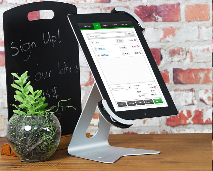 Twist Tablet Stand Vend App