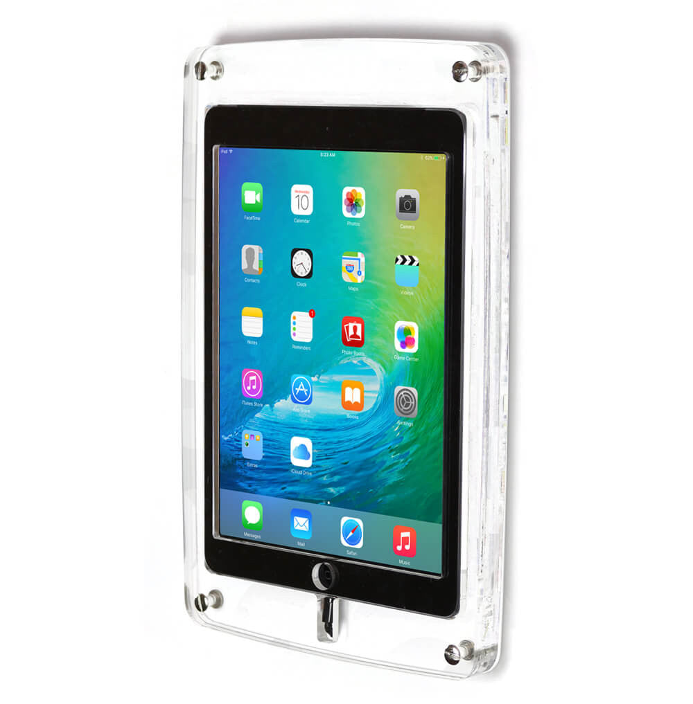 Crystal Tablet Wall Enclosure Mount