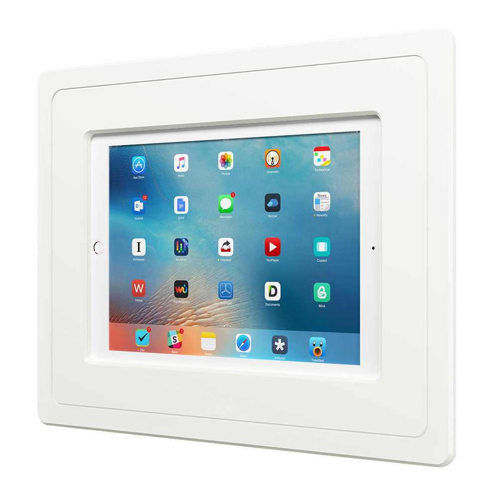 Flush ipad wall mount the hubb for Flush with the wall