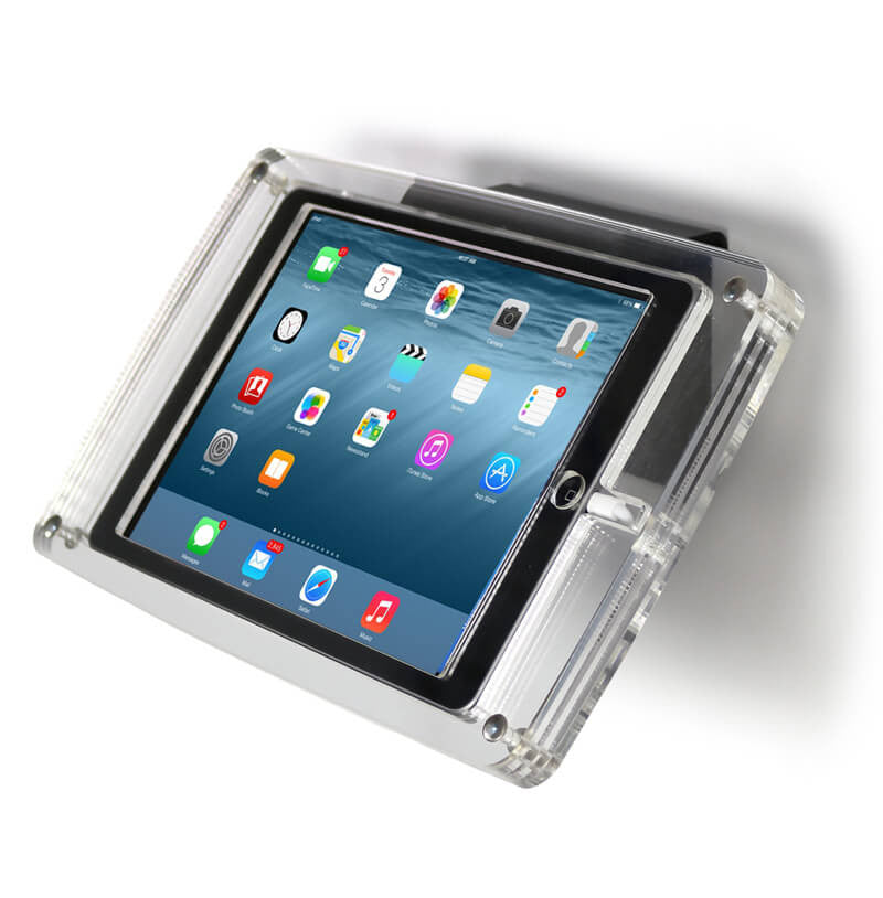 Crystal Wall Mounted Tablet Enclosure