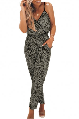 Hudson Faux-Wrap Jumpsuit - Della Direct