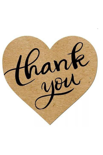 Thank You Stickers - Della Direct