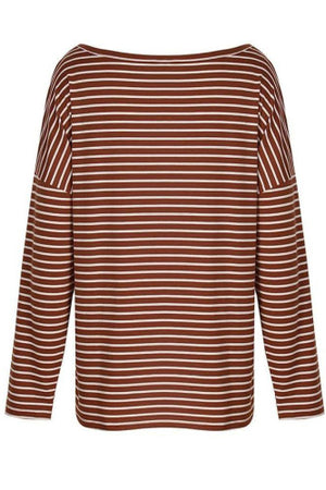 Striped Dolman Sleeve Top