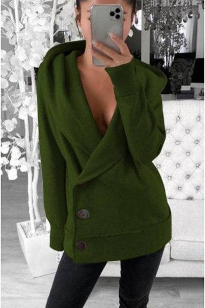 Lauren Sweatshirt Cardigan Coat