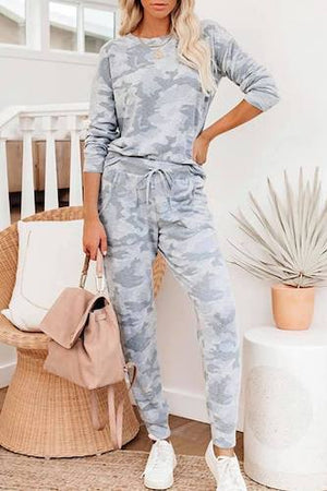 Iceberg Camo Lounge Set