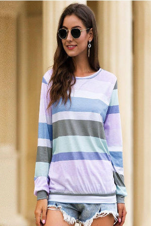 Shiloh Striped Top