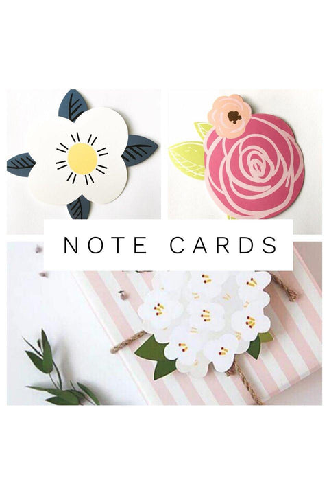 Flower Note Cards - Della Direct