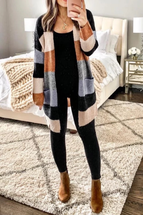 Brooke Thick Stripe Chunky Sweater