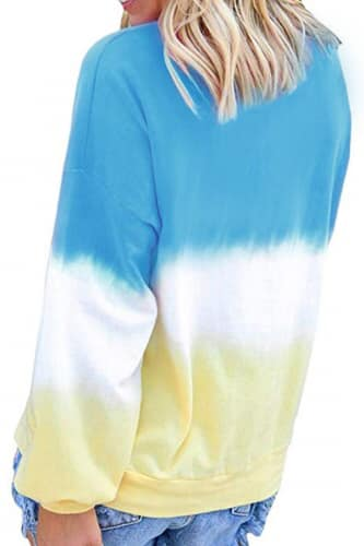 Tie Dye Sweatshirt Collection - Della Direct