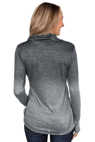 Polly Zipper Pullover - Della Direct