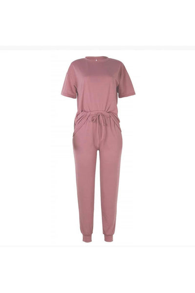 Soft & Cozy Solid Color Lounge Wear Set