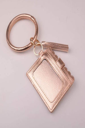 Bracelet Keychain Wallet Card-Holders - Della Direct
