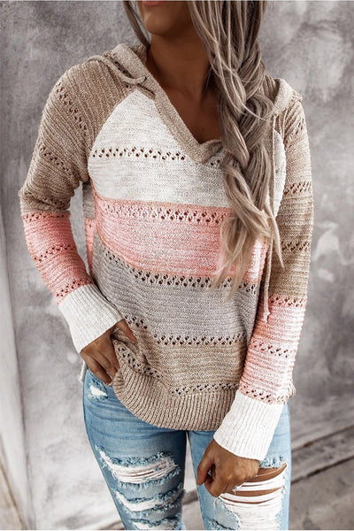 Kelly Hooded Sweater - Della Direct