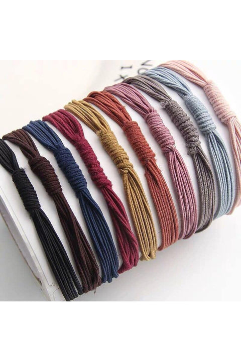 All Wrapped Up Hair Ties - Della Direct