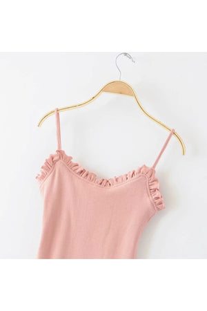 Tilly Ruffled Sweetheart Bodysuit
