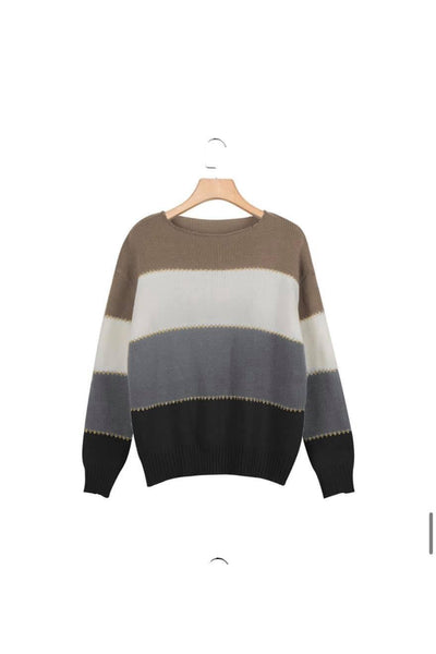 Leslie Colorblock Sweater