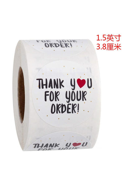 Sticker Rolls - 500pcs.
