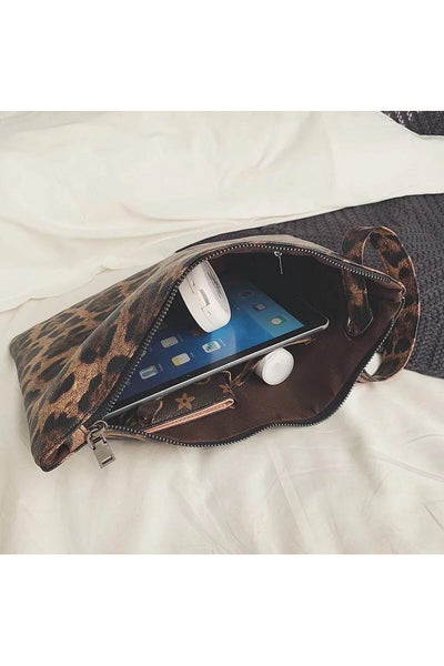 Animal Print Wristlet - Della Direct