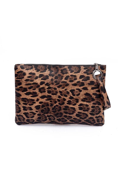 Animal Print Wristlet - She & Sho