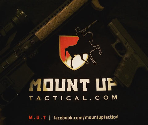 Mount Up Tactical Logo Tee.