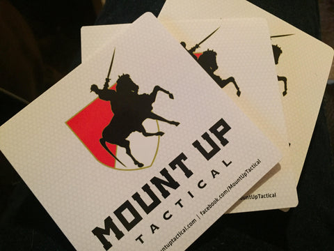 "Mount UP Tactical ""UV/Waterproof"" Sticker!"