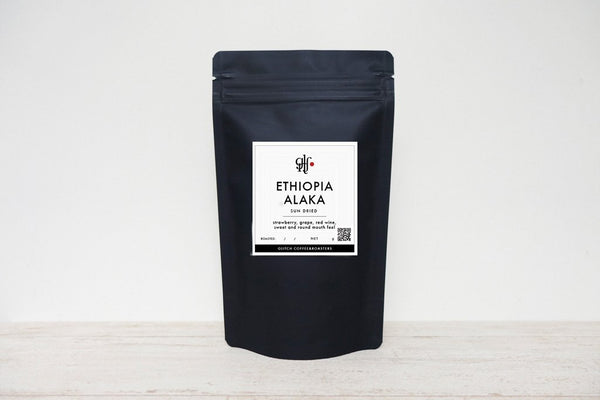 ETHIOPIA ALAKA SUN DRIED - GLITCH COFFEE&ROASTERS
