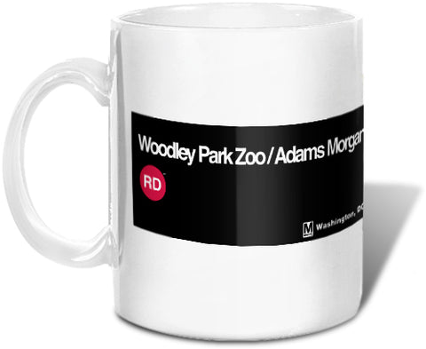 Woodley Park Zoo / Adams Morgan Mug