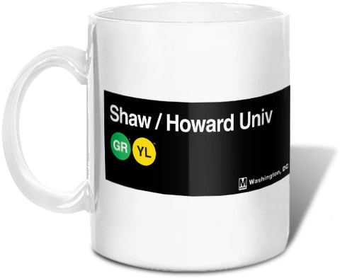 Shaw / Howard Univ Mug