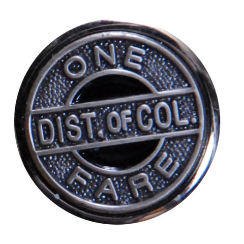 One Fare Token Lapel Pin