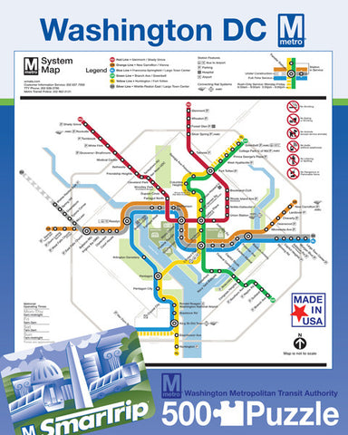 Washington DC Metro Puzzle