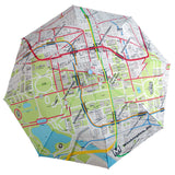DC Metro System Map Umbrella