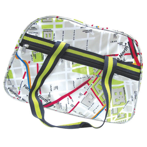 DC Metro System Map Carry Bag (Large)