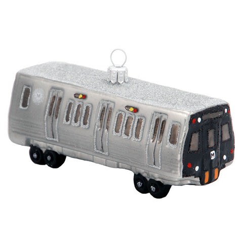 DC Metro Subway Car Ornament