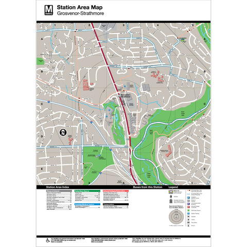 Grosvenor Strathmore Area Map Print