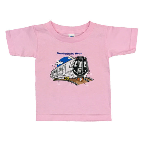 Train Parts (Pink) Youth T-Shirt