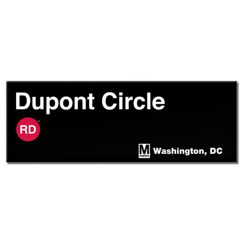 Dupont Circle Long Magnet