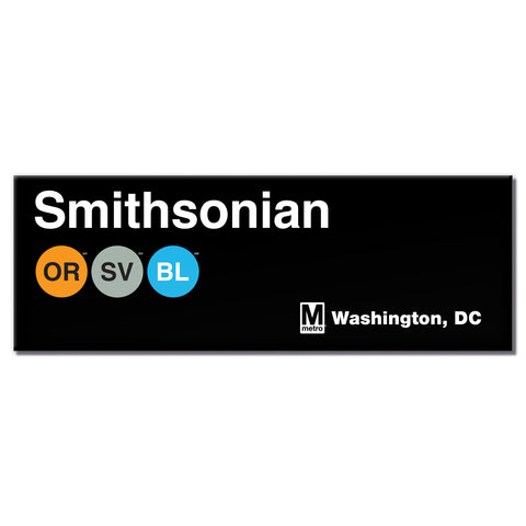 Smithsonian Long Magnet