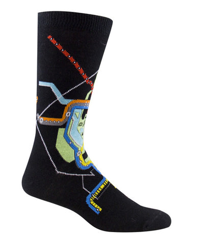 Metro Map Socks